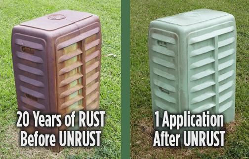 UNRUST - The Strongest Irrigation Rust Preventer