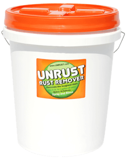 UNRUST - The Strongest Irrigation Rust Preventer