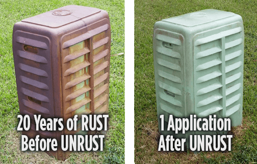 UNRUST Rust Prevention Chemical - Huge Savings on Shipping Costs!